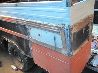 Jeepney Build Progress Cutting Up Old Roof For More Side