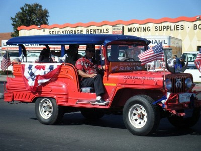 Shriners in San Diego parade
